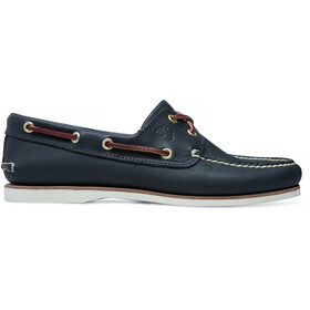 Timberland Classic 2-Eye Boat Shoes Herren medium blue full grain